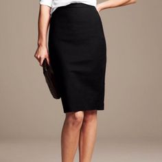 Beautiful Black Silk-like Pencil Skirt 💋 Pre-owned in great condition. This is a beautiful skirt! Perfect for career casual. ❤️ I have a bundle discount and hundreds of lovely listings in all different sizes! My closet is full of tops, dresses, scarves, jackets, coats, sweaters, skirts, handbags, shoes and formal wear. I do not accept offers on items $10 or less, please make a bundle if you want a discount. 😍 I normally ship within a day. Let me know if you have any questions. 💕 -Zahadi…