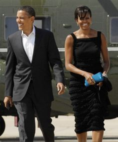 Michelle Obama on a date with Barack in New York City, May 30, 2009