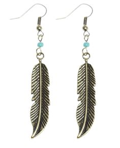 Boho feather earrings | And It Only Cost Me: 11 Festival Finds under $90 #theeverygirl