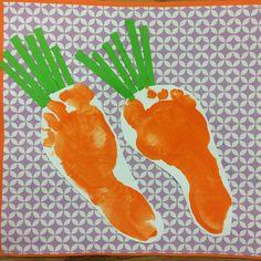 Handprint calendar April