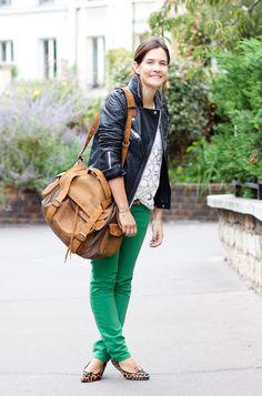 beautiful green pants