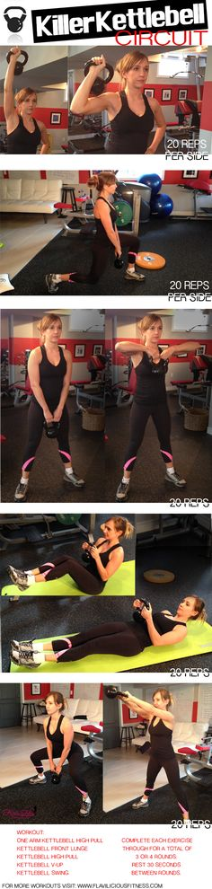 500 Rep Killer Kettlebell Circuit Workout