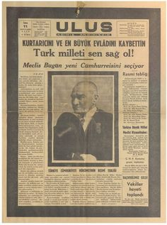 Atamız Mustafa Kemal