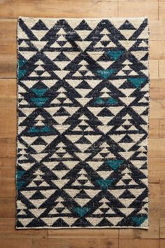 Woven Arrowhead Rug - anthropologie.com