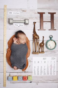 Adorable and creative Birth Announcement