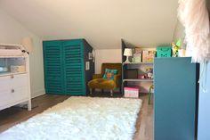 La jolie chambre de Tara - déco, baby, cute, baby room, chambre bébé, vintage, bleu