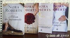 Promoção Esvaziando Minha Estante - Quarteto de Noivas de Nora Roberts