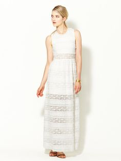 Embroidered Maxi Dress by Charlotte Ronson