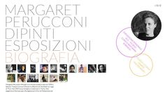 margaret-perucconi.com by Lorenzo Perucconi, via Behance