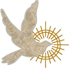 Dove Applique | Machine Embroidery Design