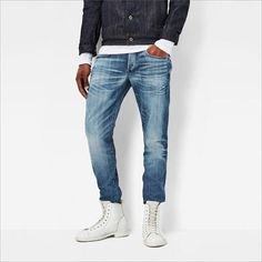 G Star | G Star Raw 3301 Tapered Mens Jeans | Mens Jeans