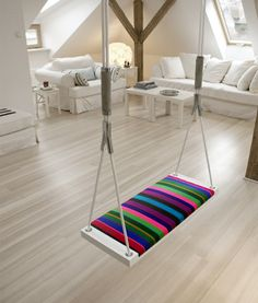LET'S STAY: Creative Hanging Bed Furniture Ideas