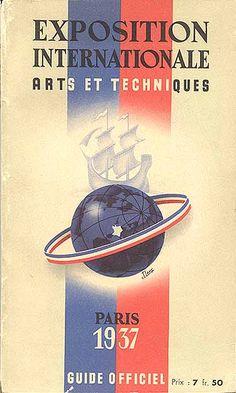 """Guidebook """"L'Exposition Internationale Arts et Techniques, Paris 1937"""""""