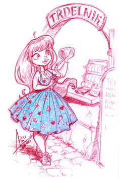 Dresses and Drawings