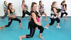 Latest mum and bub fitness crazy Kanga Training is a hit on the Gold Coast