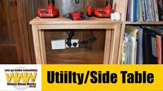 Make a Utility/Side/Coffee Table - Off the Cuff - Wacky Wood Works.