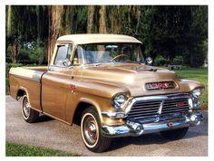 Jim & Chester's Garage — Palomino show truck… 1957 GMC Press Release photo #classictrucks