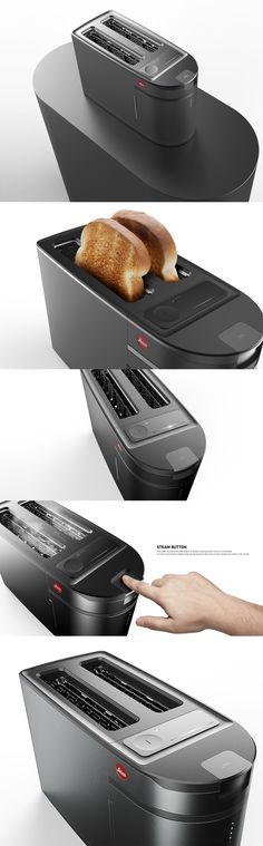 TOASTER : what if designed by 'LEICA' Product design / Industrial design / 제품디자인 / 산업디자인 /토스터/ toaster / Kicthen /design
