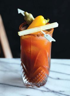 Recipe from Commander's Palace in New Orleans. Excerpted from The Bloody Mary by Brian Bartels