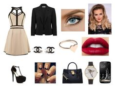 """""""Untitled #71"""" by larasoares100 ❤ liked on Polyvore featuring Little Mistress, Forever New, JustFabulous, MICHAEL Michael Kors, Samsung and Olivia Burton"""