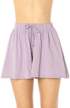 Cheap Monday Shorts Janey in Purple Ash: Miss KL #MissKL #MissKLCoachella