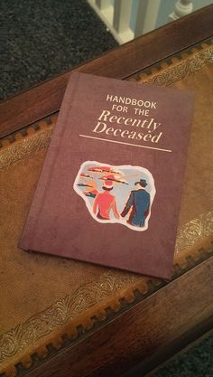 Hey, I found this really awesome Etsy listing at https://www.etsy.com/listing/231200801/handbook-for-the-recently-deceased-blank