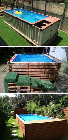 Here are 10 truly awesome yet easy to construct swimming pool ideas to turn your backyard into a dose of refreshment!