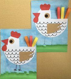 Spring Crafts For Kids, Kids Crafts, Animal Art Projects, Babysitting, Art Ideas, Kindergarten, Kids Rugs, Animals, Manualidades