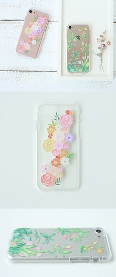Prevent damage to your iPhone 7 with the Floral iPhone 7 Jelly Case! The beautiful illustration makes the case always pleasant to look at!