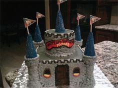 Boy Castle Birthday Cake    www.facebook.com/BobbiCakes
