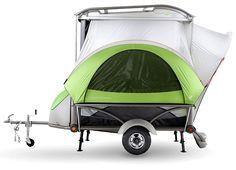 Mini, Heavy-Duty GO Camping Trailer