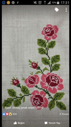 Kanaviçe - Canım Anne, You can create very unique patterns for textiles with cross stitch. Cross stitch versions can nearly amaze you. Cross stitch beginners can make the versions they need without difficulty. Cross Stitch Letters, Cross Stitch Bird, Cross Stitch Borders, Cross Stitch Samplers, Modern Cross Stitch, Cross Stitch Flowers, Cross Stitch Designs, Cross Stitch Embroidery, Stitch Patterns