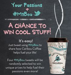 Caribou Coffee Launches #MyBou Twitter Campaign