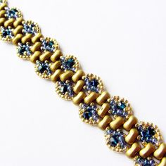 TUTORIAL Rulla BiBeads Bracelet PEACOCK WAVE by Extrano on Etsy