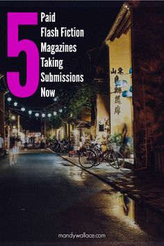 Writing opportunities: 5 Paid Flash Fiction Magazines Taking Submissions Now. Get paid and published with one of these online and print publications for writers.
