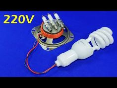 Free Electricity Generator 220V CFL Energy Light Bulb NEW AC Electric Generator 2019 New Experiment - YouTube