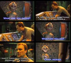 Stargate Atlantis Funny: McKay and Hermiod-This is one of my all time favorite moments from Atlantis