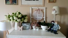 Gallery Wall, Pastel, Spring, Frame, Summer, Diy, Home Decor, Do It Yourself, Homemade Home Decor