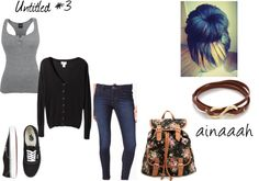 """""""Untitled #3"""" by ainaaah ❤ liked on Polyvore"""