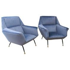 "Italian 50""s club chairs"
