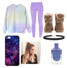 """""""christmas outfit- Alpha's mate"""" by countrylove531 on Polyvore featuring UGG, Humble Chic, adidas and Casetify"""