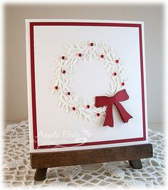DTGD13Giogio - Holiday Wreath by ohmypaper! - Cards and Paper Crafts at Splitcoaststampers