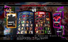 character select screen umvc3characterselect.png (1680×1050)