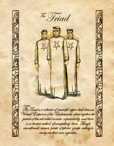 """The Triad"" - Charmed - Book of Shadows Charmed Spells, Charmed Book Of Shadows, Magic Spells, Charmed Tv Show, Charmed Sisters, Witch Spell, Wicca Witchcraft, Demonology, Deviantart"