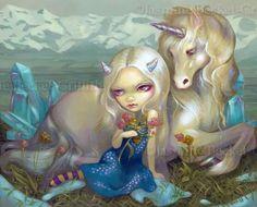 Fiona y el unicornio