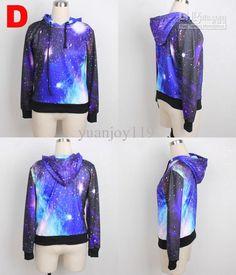 2013 New style galaxy clothes hoody long sleeve hoody shirts galaxy shirts  mens galaxy apparel Moletons 348eaca916878