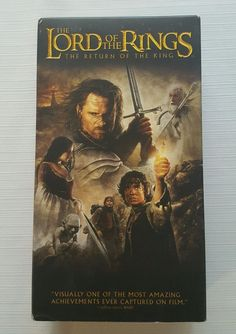 The Lord of the Rings: The Return of the King (VHS, 2004, 2-Tape Set #291 in DVDs & Movies, VHS Tapes | eBay