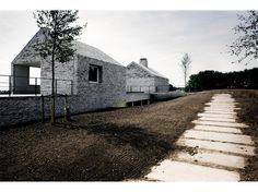 Stephane Beel Architecten - Villa H. te W. | via redhousecanada