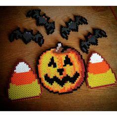 Halloween perler beads by crankupcreations