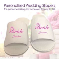 7742bc79361 21 Best Wedding Slippers images